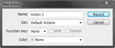 انجام عملیت های تکراری، با اکشن ها (Actions) در فتوشاپ