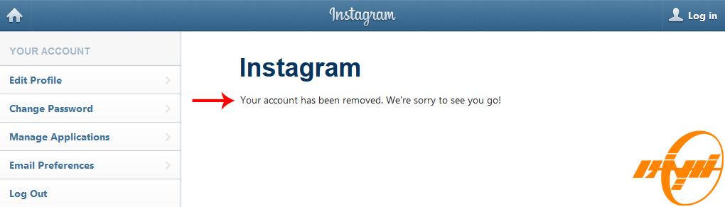 حذف دائمی اکانت اینستاگرام |Delete Instagram Account