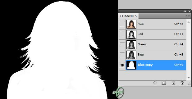 آموزش جدا کردن مو از زمینه عکس در فتوشاپ