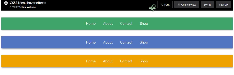 نمونه پن های برتر سایت Codepen