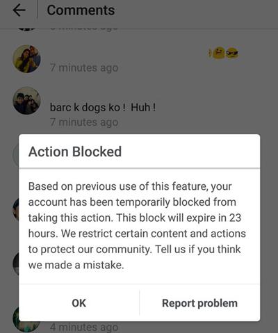 روشی برای خروج از بلاکی اینستاگرام