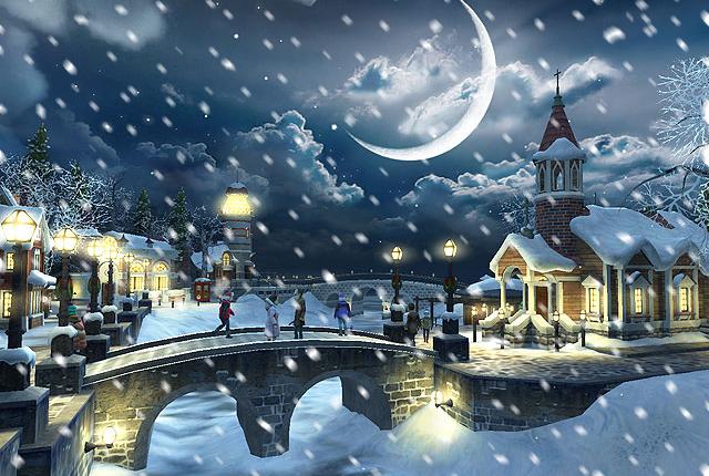 آموزش تصویری اضافه کردن برف به عکس با فتوشاپ