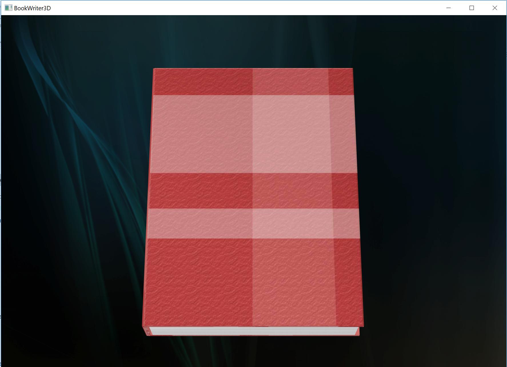 پروژه کتاب سه بعدی
