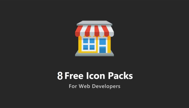 ۸ مجموعه آیکون رایگان برای توسعه دهندگان وب