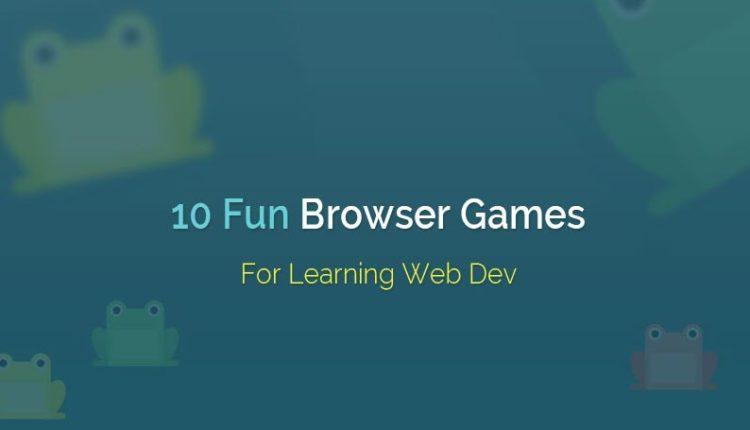 ۱۰ بازی جالب برای یادگیری طراحی و توسعه وب
