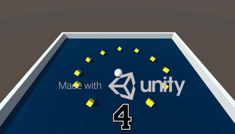دوره آموزشی ساخت بازی چرخش توپ با یونیتی – (قسمت چهارم – تنظیمات محیط بازی)