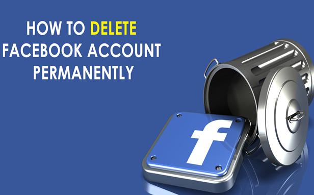 آموزش پاک کردن اکانت فیس بوک