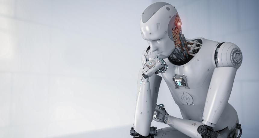 ربات خود آگاه