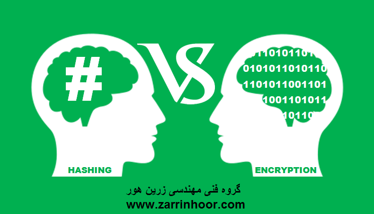 تفاوت بین Hashing (هش کردن) وEncryption (رمزنگاری )