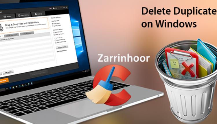 حذف تمامی فایل های تکراری در ویندوز