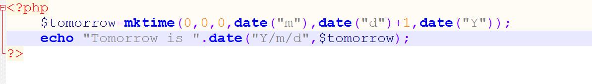 آموزش توابع ()dateدر php