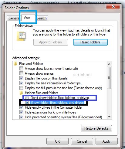 ترفندهای جالب و کاربردی در ویندوز(سری اول)