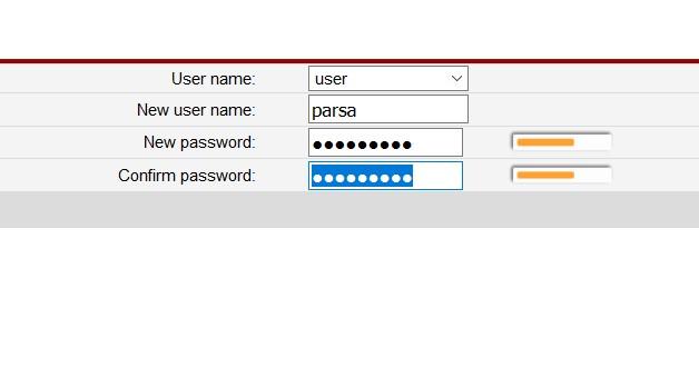 عوض کردن رمز تنظیمات مودم