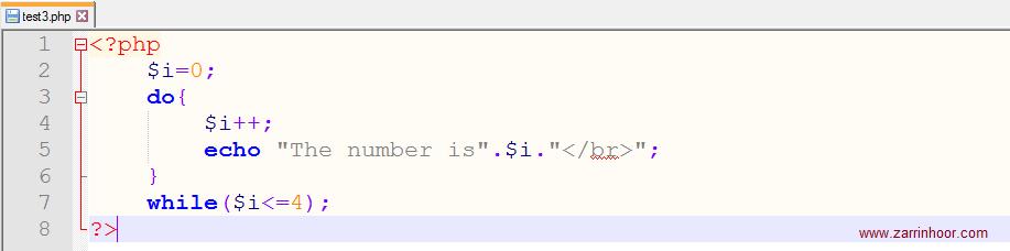 آموزش حلقه ها (Loop) در php