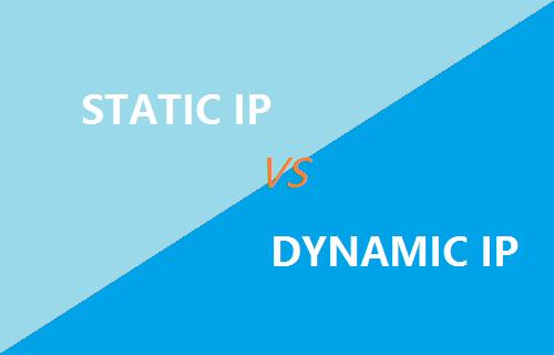 تفاوت آی پی استاتیک و آی پی دینامیک (IP static و IP dynamic)