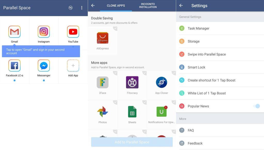 ایجاد چند حساب کاربری برای یک نرمافزار در اندروید