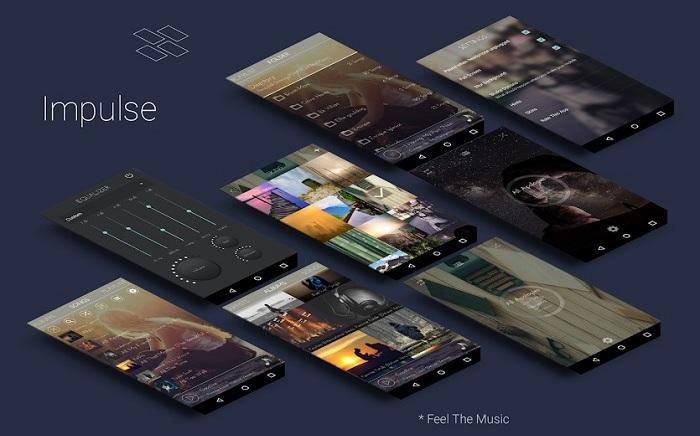 اپلیکیشن Impulse برای اندروید