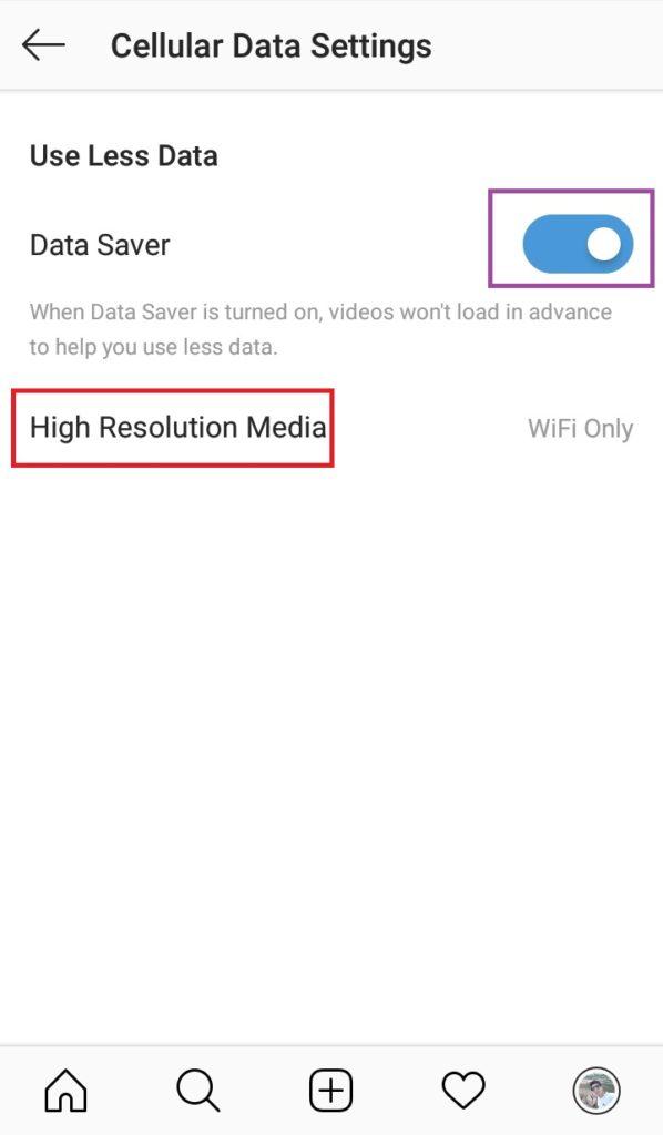 غیرفعال کردن نمایش خودکار ویدئوهای اینستاگرام