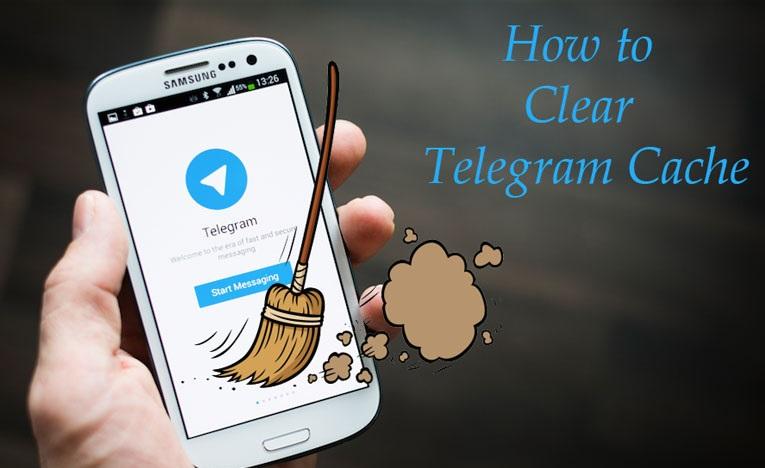 پاک کردن حافظه پر شده تلگرام