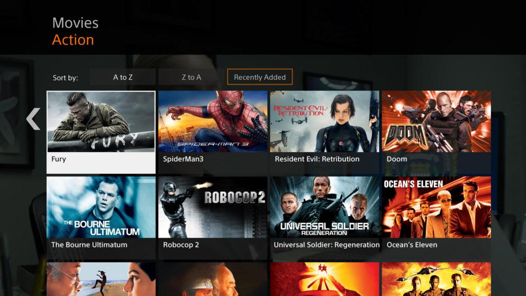Sony Crackle،اپلیکیشن رایگان فیلم