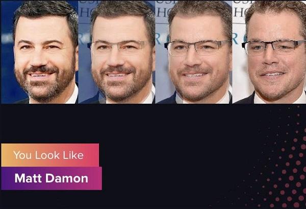 دانلود اپلیکیشن Gradient ؛ برنامه شباهت چهره با افراد معروف