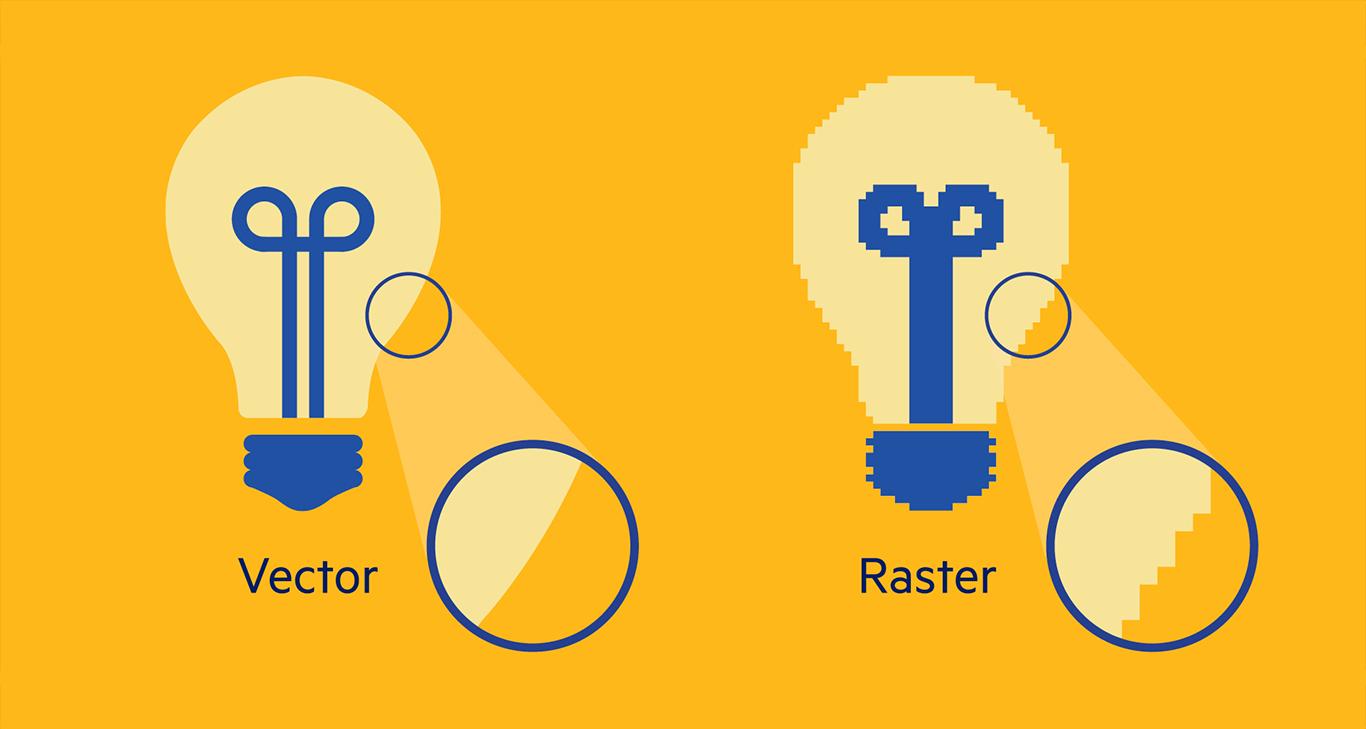 فرق بین تصاویر پیکسلی و وکتوری چیست؟