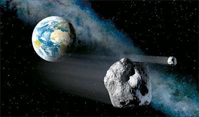 سیارک بزرگ از کنار زمین رد میشود