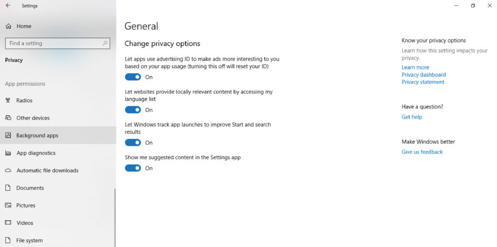 بستن برنامههای System Tray در ویندوز10
