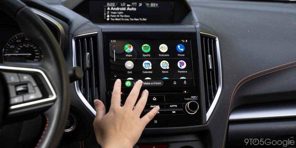 Android Auto برنامه هوشمند رانندگی