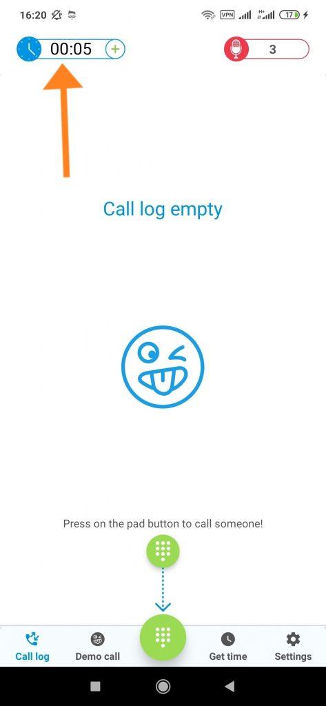 ترفند زنگزدن با شماره ناشناس به افراد مرحله 2